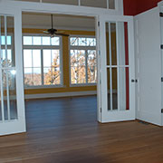 American cherry hardwood floor w/Bona finish, Marion, NC